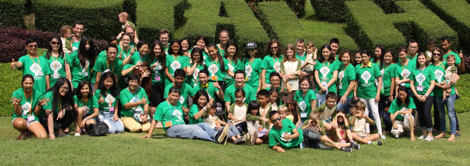Grace City Bangkok church camp, October 2015